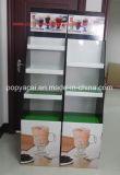 Le présentoir imperméable à l'eau de carton de boisson avec 3 plateaux contenant 30kg, Milktea a ridé le présentoir d'étage