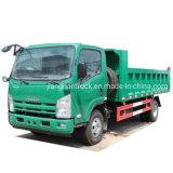 Direito de luz Isuzu caminhão de caixa basculante