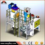Type matériel de plaque tournante de certificat de la CE de grenaillage à écrouissage/machine grenaillage