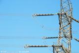 Башня передачи 750 Kv стальная