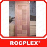 台湾のドアの皮RocplexのMDFのドアの皮