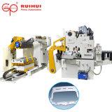 직선기와 가진 코일 장 자동적인 지류 및 기계 너무와 압박 기계에 있는 Uncoiler 사용
