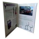 Écran LCD personnalisée 4.3inch Carte Vidéo Brochure