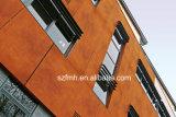 최신 판매 고대 백색 광택이 없는 지상 방화 효력이 있는 경기장 외부 벽 클래딩