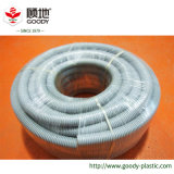 Das große elektrische flexible gerunzelte Rohr-Plastikgefäß brüllt Rohr für Kabel und Drähte