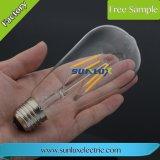 E27 E14 E12 4/8/12W a forma tradicional de Edison filamento da lâmpada LED de luz C35/A60