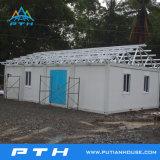 Casa luxuosa pré-fabricada do recipiente da alta qualidade como o edifício modular