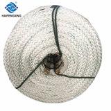 Diametro 70mm riga di attracco intrecciata 12 fili della corda di attracco del poliestere riga dell'ancoraggio