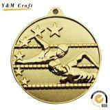 رخيصة عالة [3د] رقم مكافأة معدن وسام ([م012])