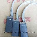 Escova de carbono MG1167 do Electrographite das vendas para os motores