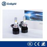 A série a mais atrasada de G do farol do diodo emissor de luz do carro do auto acessório H1 H3 H4 H7 com diodo emissor de luz do CREE