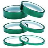 La alta temperatura de color verde de enmascarar cintas de Pet