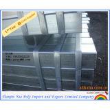 Tubo d'acciaio quadrato galvanizzato tuffato caldo di alta qualità