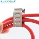 SUS 304 материал большого размера PV кабельных зажимов