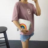 2017の方法新しい女性袋の韓国の方法三次元虹の小さい正方形のパッケージの傾向の女性のメッセンジャーのショルダー・バッグ