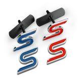 フォードの焦点Stのグリルの紋章のロゴのバッジ