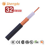 Câble coaxial de liaison Rg174/U avec le prix usine de conformités d'UL de la CE