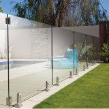 Frameless 옥외 유리제 담을 수영하는 유리제 난간 마개 스테인리스