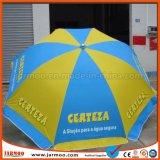 Ткань Оксфорд рекламируя зонтик с стойкой