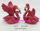 Flamingo resina Decoração com boa qualidade