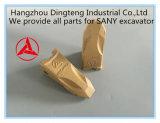 Dientes de la cuchara de piezas de la excavadora Sany establece para la excavadora Sany todos los modelos originales y con precio competitivo