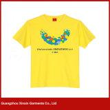Concevoir le T-shirt en gros chaud d'hommes d'impression d'écran de mode de coton (R127)