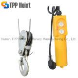 1000kg 판매를 위한 휴대용 소형 철사 밧줄 모터 상승 전기 호이스트 PA1000