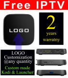 Custom Made IPTV gratuite Android TV Box S912 Octa Core T95R-2GO/8 Go