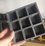 La fibra de vidrio cerró fuertemente la reja cubierta superior, reja cubierta moldeada antideslizante de Gfrp