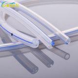 Canal de ronds de silicone médicaux jetables de drains à cannelures