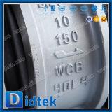 API 6D Wcb van Didtek de Dubbele Klep van de Controle van het Wafeltje van de Plaat