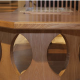 Mesa de madeira maciça para Sala de Estar (CH-618)