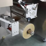 Automatisches schnelle Geschwindigkeits-horizontales Verpackungsmaschine-Kissen Foshan für Wegwerfgaze-Schablone