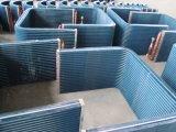 7mm schraubten kupfernes Gefäß-mit Luftschlitzenflosse-Luft Conditioiningsystem Wärmetauscher