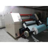 Duplex automático da película CNC rebobinador de alta velocidade e cortador a máquina