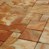 Красивейшая цветастая мозаика мрамора Onyx квадрата камня мозаики