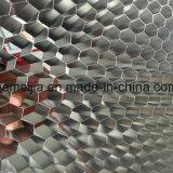 Folha de alumínio do favo de mel do preço do competidor