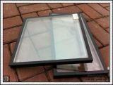 Glace en verre/creuse d'isolation Inférieure-e de mur rideau/glace isolée