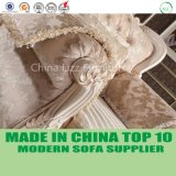 Sofà classico di Chesterfield del tessuto Tufted domestico elegante operato della mobilia