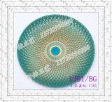 Glasplatten-Glas-Aufladeeinheits-Platten-Aufladeeinheits-Platten-Tafelgeschirr-Essgeschirr