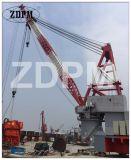 専門の造船所の門脈の容器クレーン