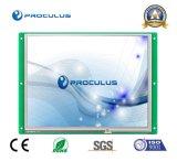 9.7 affichage à cristaux liquides de pouce 1024*768 avec l'écran tactile de Rtp/P-Cap pour les dispositifs industriels