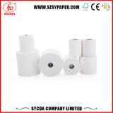 55gsm papel térmico de alta blanca POS pulpa de madera