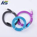 für Apple kabelt Aufladeeinheit 3FT 6FT Mfi zugelassenes Handy-Aufladeeinheits-Nudel-Kabel