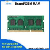 100% тестирование Unbeffered оперативной памяти SO-DIMM DDR4 4 ГБ 2133Мгц, 2400 Мгц памяти компьютера
