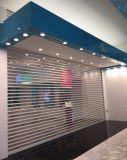 プラスチック透過圧延のドア、店のプラスチック水晶ローラーシャッタードア