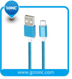 Venda por grosso de cabo Micro USB portátil para iPhone carregador Samsung cabo de dados