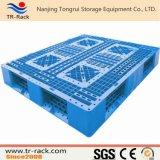 HDPE novo do equipamento do armazém nove pés de pálete plástica ao armazenamento