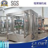 agua de botella automática 2500bph máquina que capsula de relleno que se lava 3 in-1