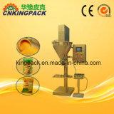 Venda a quente sem Semi-automático máquina de enchimento de pó com tela sensível ao toque